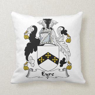 Escudo de la familia de Eyre Cojín
