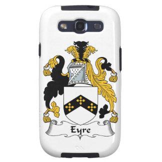 Escudo de la familia de Eyre Galaxy S3 Carcasas