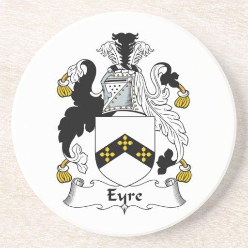 Escudo de la familia de Eyre Posavasos Diseño