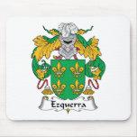 Escudo de la familia de Ezquerra Tapetes De Ratones