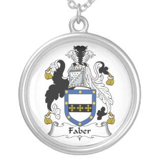 Escudo de la familia de Faber Pendiente