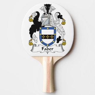Escudo de la familia de Faber Pala De Tenis De Mesa