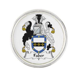 Escudo de la familia de Faber Pin