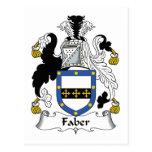 Escudo de la familia de Faber Postales
