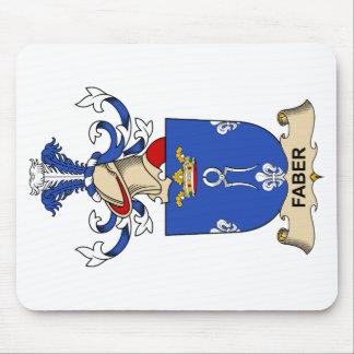 Escudo de la familia de Faber Tapetes De Ratón