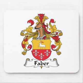 Escudo de la familia de Faber Alfombrillas De Raton