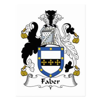 Escudo de la familia de Faber Postal