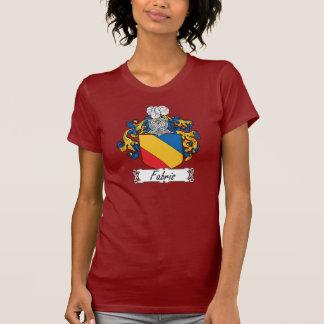 Escudo de la familia de Fabris Camiseta