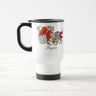 Escudo de la familia de Fagan Taza De Café
