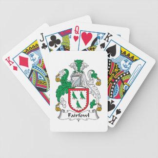 Escudo de la familia de Fairfowl Barajas De Cartas