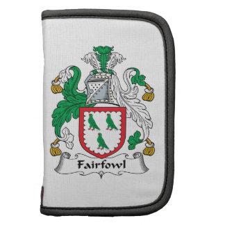 Escudo de la familia de Fairfowl Planificadores