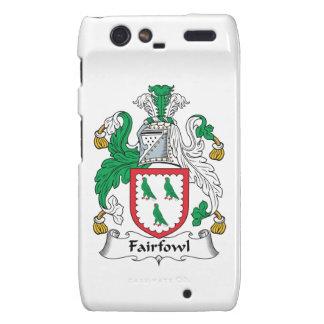 Escudo de la familia de Fairfowl Droid RAZR Funda