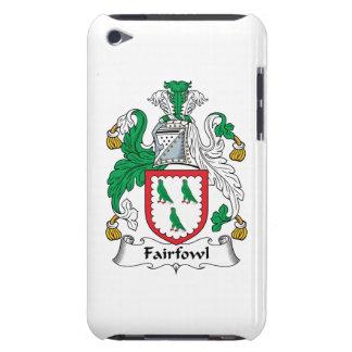 Escudo de la familia de Fairfowl iPod Case-Mate Protector
