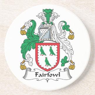 Escudo de la familia de Fairfowl Posavasos Diseño