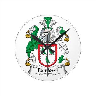 Escudo de la familia de Fairfowl Relojes