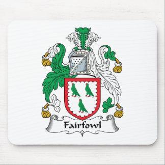 Escudo de la familia de Fairfowl Tapete De Ratón
