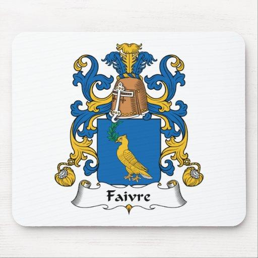 Escudo de la familia de Faivre Tapete De Raton