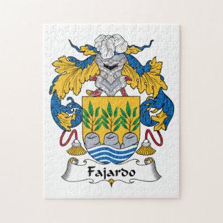 Escudo de la familia de Fajardo Puzzles Con Fotos