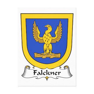 Escudo de la familia de Falckner Lienzo Envuelto Para Galerías