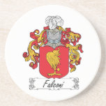 Escudo de la familia de Falconi Posavasos Diseño