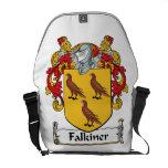 Escudo de la familia de Falkiner Bolsa De Mensajeria