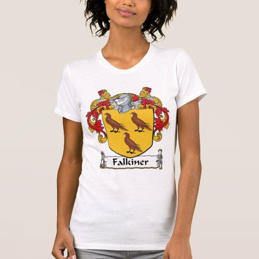 Escudo de la familia de Falkiner Camiseta