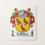 Escudo de la familia de Falkiner Puzzle