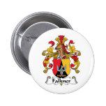 Escudo de la familia de Falkner Pin
