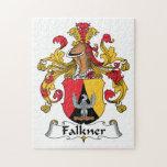 Escudo de la familia de Falkner Rompecabezas