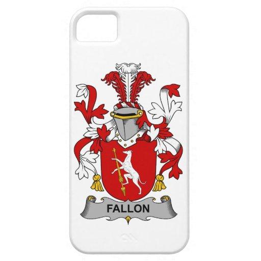 Escudo de la familia de Fallon iPhone 5 Carcasa