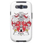 Escudo de la familia de Faria Galaxy S3 Cárcasa