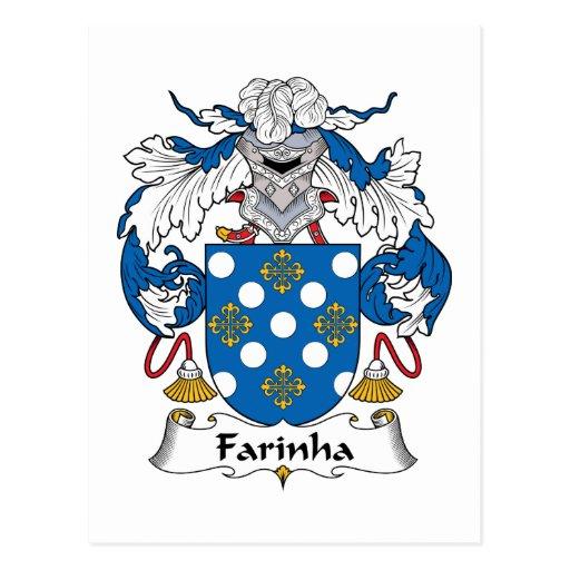 Escudo de la familia de Farinha Postal