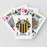 Escudo de la familia de Farley Baraja Cartas De Poker