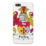 Escudo de la familia de Farley iPhone 5 Funda