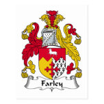 Escudo de la familia de Farley Postal