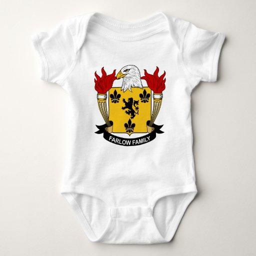 Escudo de la familia de Farlow Camisas