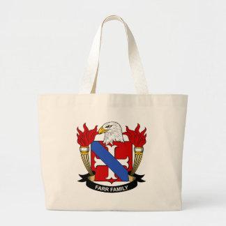 Escudo de la familia de Farr Bolsa Lienzo