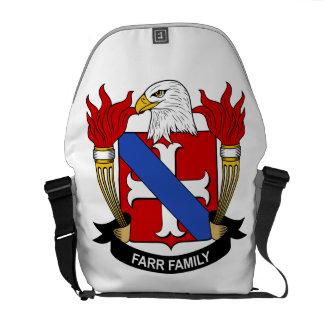Escudo de la familia de Farr Bolsa Messenger