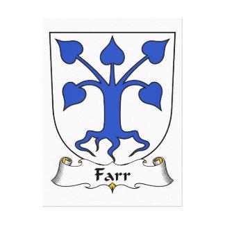 Escudo de la familia de Farr Impresiones En Lona Estiradas