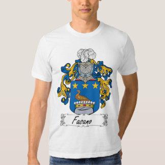 Escudo de la familia de Fasano Remera