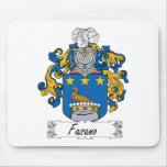 Escudo de la familia de Fasano Tapetes De Raton