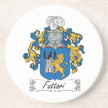 Escudo de la familia de Fattori Posavasos Diseño
