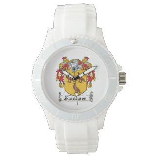 Escudo de la familia de Faulkner Reloj De Mano