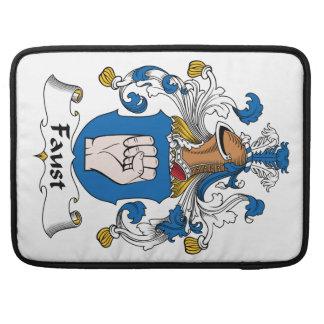Escudo de la familia de Fausto Funda Macbook Pro