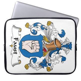 Escudo de la familia de Fausto Funda Portátil
