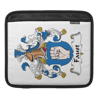 Escudo de la familia de Fausto Fundas Para iPads