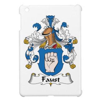Escudo de la familia de Fausto iPad Mini Funda