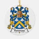 Escudo de la familia de Favereau Adorno Para Reyes