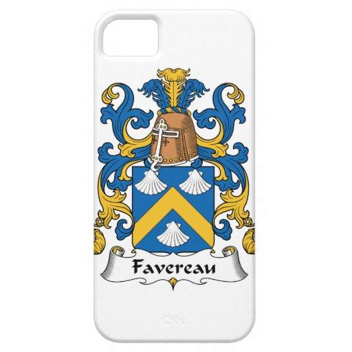 Escudo de la familia de Favereau Funda Para iPhone 5 Barely There