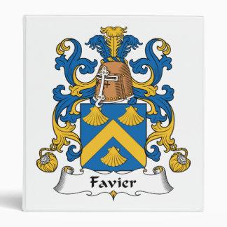 """Escudo de la familia de Favier Carpeta 1"""""""